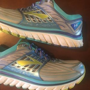 Brooks Glycerin 14 Running Athletic Shoes Gray